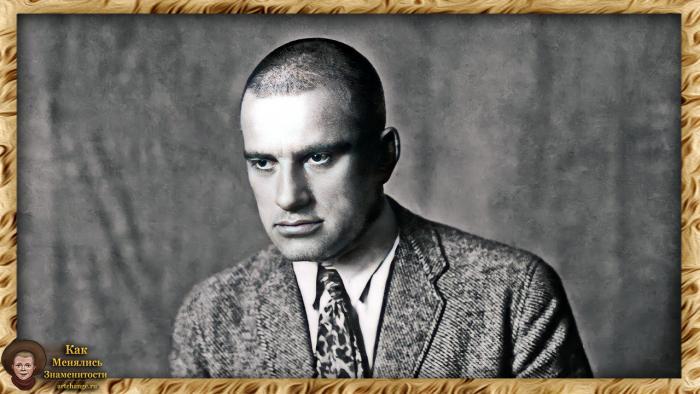 Владимир Маяковский в молодости, 1920 год