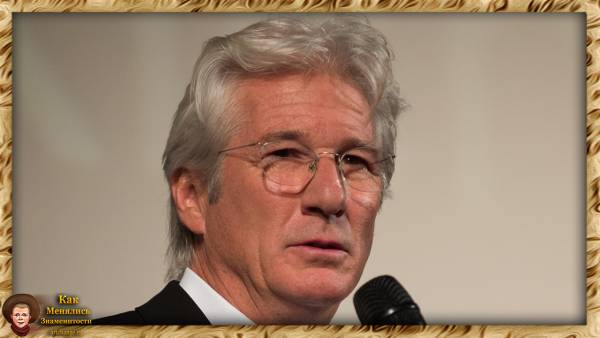 Ричард Гир - биография, фотографии из жизни (Richard Gere)