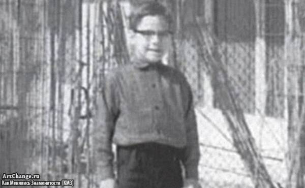 Жан-Клод Ван Дамм в детстве
