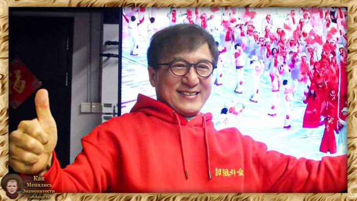 Джеки Чан - биография ранних лет, детские фотографии