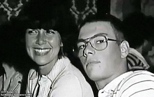 Жан-Клод Ван Дамм со своей первой женой Марией Родригес