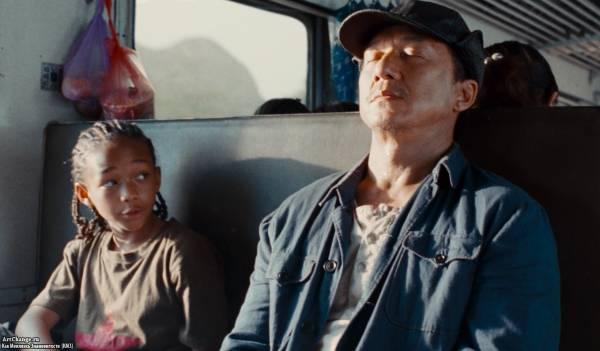Каратэ-пацан (2010), в ролях Джеки Чан