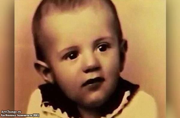 Сильвестр Сталлоне в раннем детстве