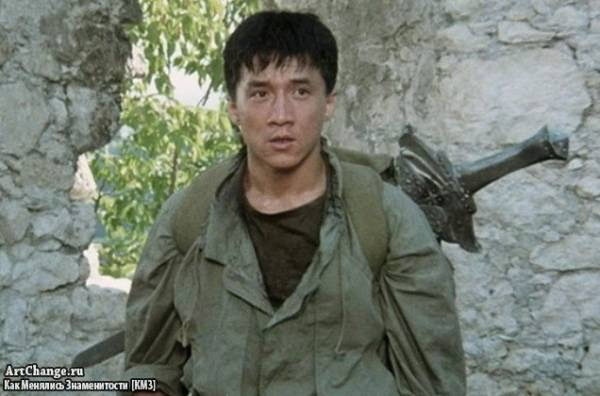 Доспехи Бога (1986), в ролях Джеки Чан