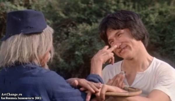Змея в тени орла (1978), в ролях Джеки Чан