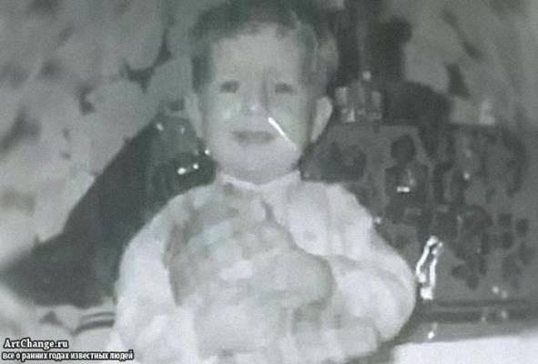 Брюс Уиллис в детстве