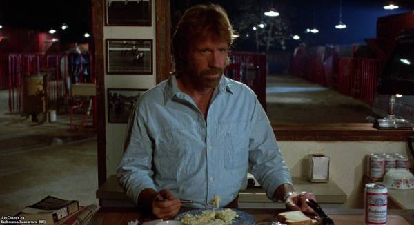 Отряд «Дельта» (1986), в ролях Чак Норрис