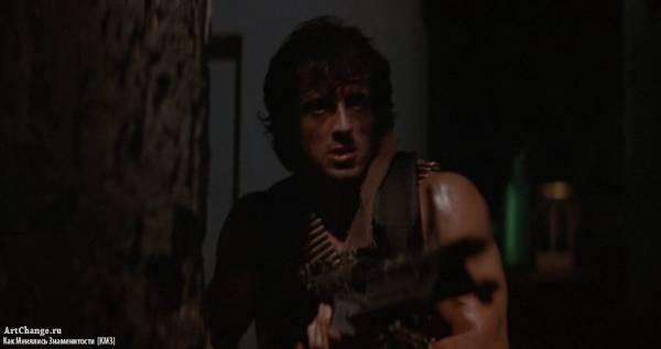 Рэмбо: Первая кровь (1982), в ролях Сильвестр Сталлоне
