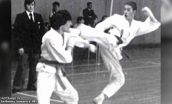 Молодой Жан-Клод Ван Дамм в 1979 году