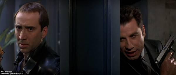 Без лица (1997), в ролях Николас Кейдж