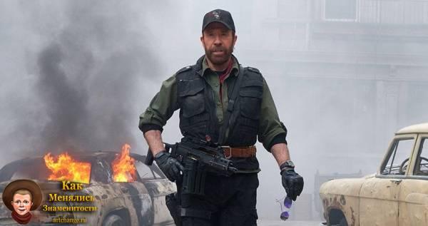 Неудержимые 2 (2012), в ролях Чак Норрис