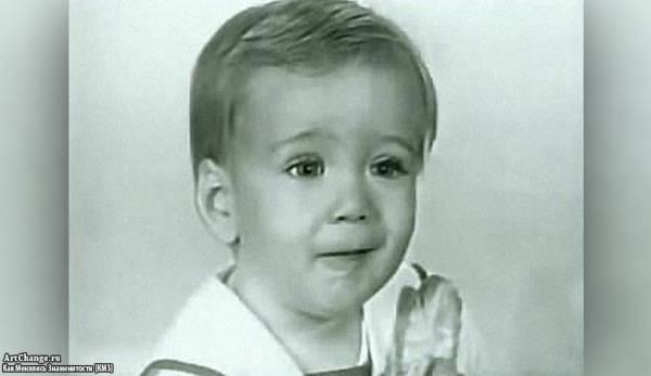 Николас Кейдж в детстве