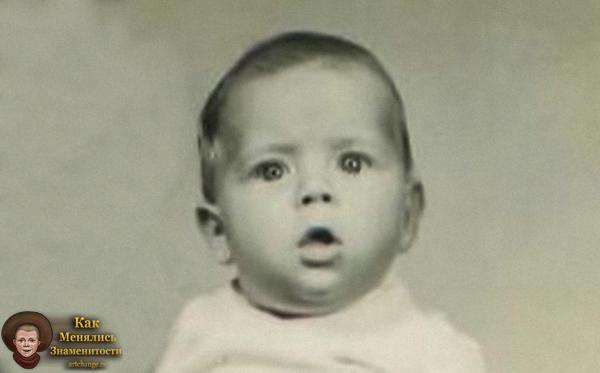Брюс Уиллис в раннем детстве