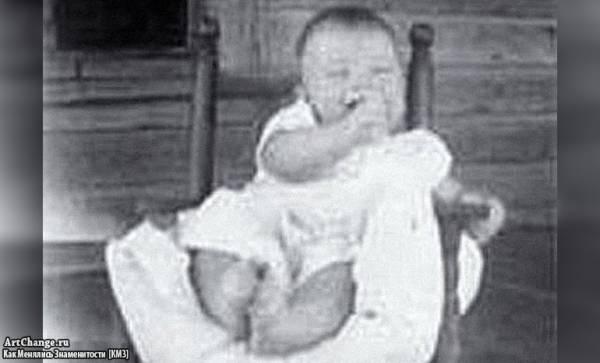 Чак Норрис в раннем детстве