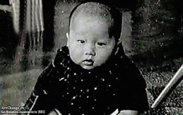 Джеки Чан в раннем детстве