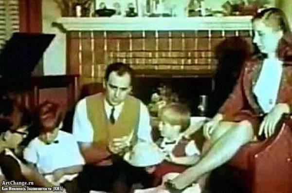 Николас Кейдж его отец, мать и братья