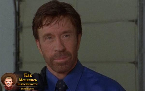 Человек президента (2000), в ролях Чак Норрис