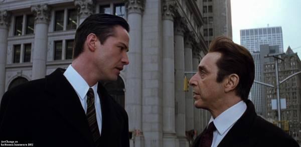Адвокат дьявола (1997), в ролях Киану Ривз
