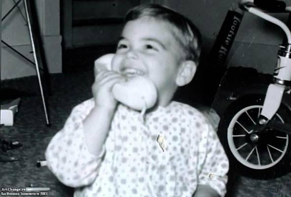 Джордж Клуни в раннем детстве