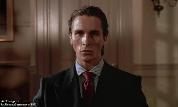 Американский психопат (2000), в ролях Кристиан Бэйл