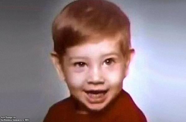 Мэрилин Мэнсон (Брайан Уорнер) в раннем детстве