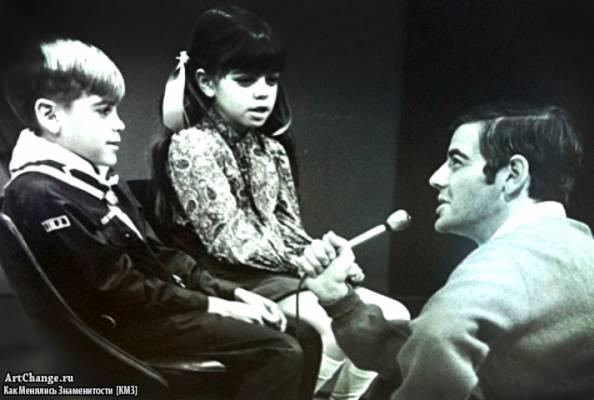 Джордж Клуни в детстве и Аделиа в папином ток-шоу