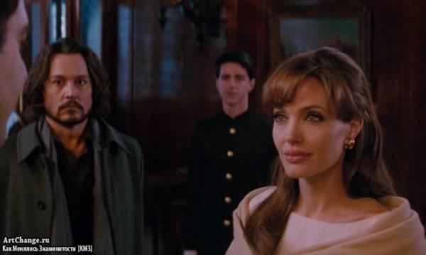 Турист (2010), в ролях Анджелина Джоли, Джонни Депп