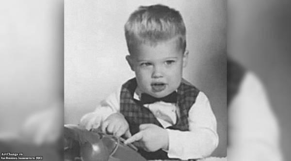 Брэд Питт в детстве