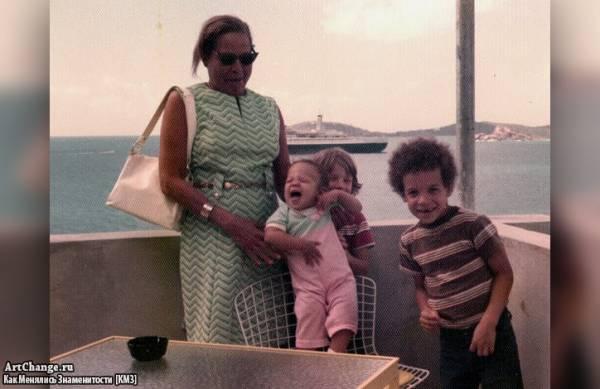 Вин Дизель в детстве с бабушкой и братьями