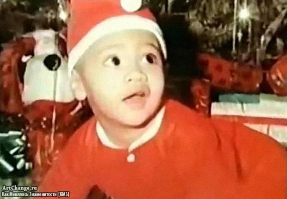 Дуэйн Скала Джонсон в раннем детстве