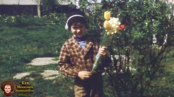Андрей Нифёдов в детстве в 1ом классе - 1991 год