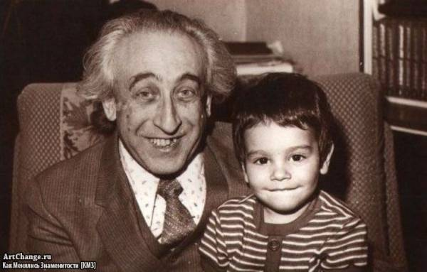 Тимур Юнусов,Тимати в детстве с дедушкой