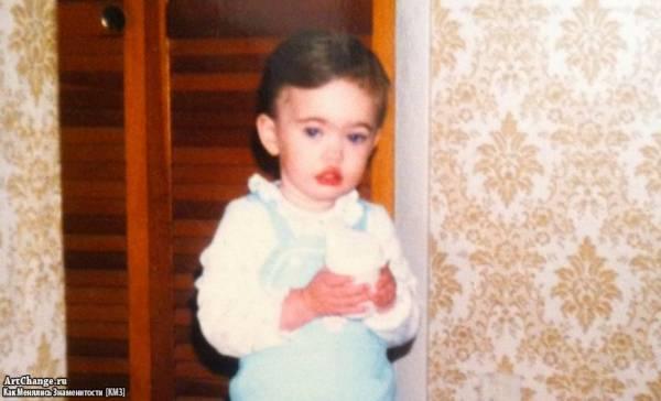 Меган Фокс в детстве