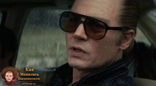 В роли гангстера Уайти Балджера в драме С. Купера Черная месса (2015)