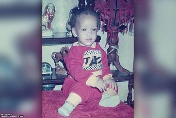 Рианна Робин Фенти в раннем детстве