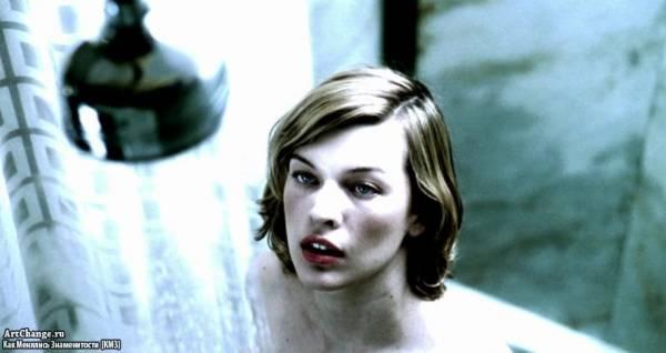 Обитель зла (2002), в ролях Милла Йовович