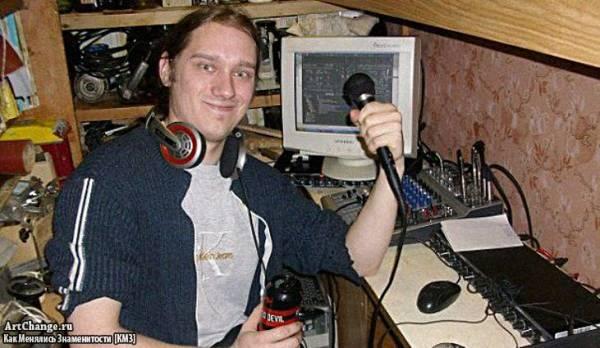 Молодой Андрей Нифедов с компьютером