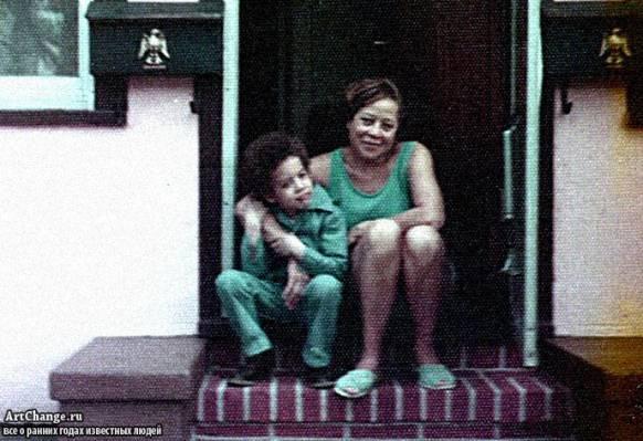 Вин Дизель в детстве с мамой Делорой