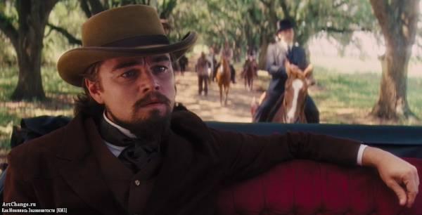 Джанго освобожденный (2012), в ролях Леонардо ДиКаприо