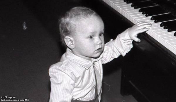 Андрей Нифёдов в раннем детстве