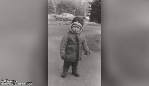 Денис Джиган в детстве (1987)