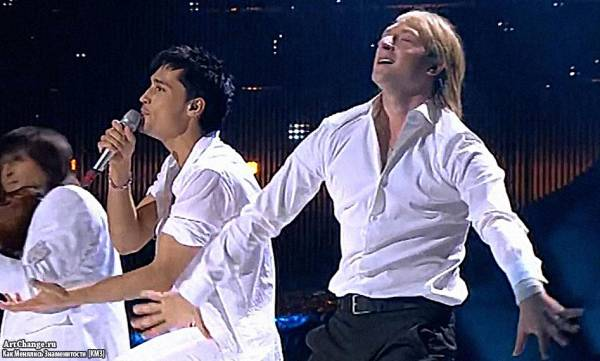 На Евровидении с Плющенко, Dima Bilan - Believe (2008)