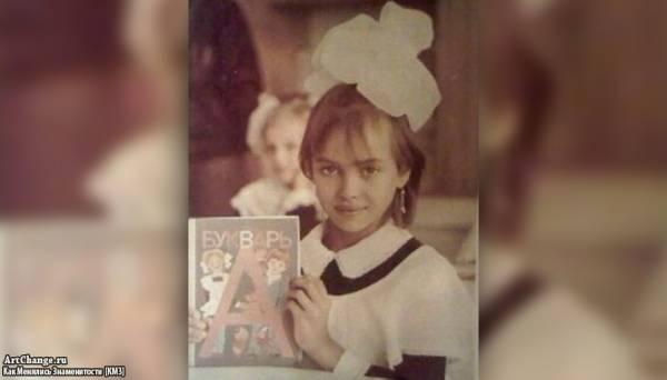 Ирина Шейк в детстве, юности (в школьные годы)