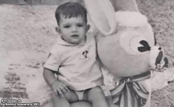 Антонио Бандерас в раннем детстве