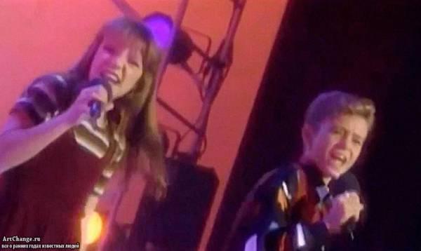 Бритни Спирс и Джастин Тимберлейк в Клубе Микки Мауса