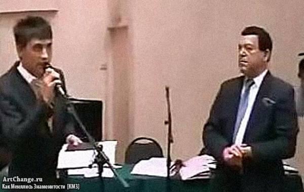 Дима Билан в 1999 году с Кобзоном