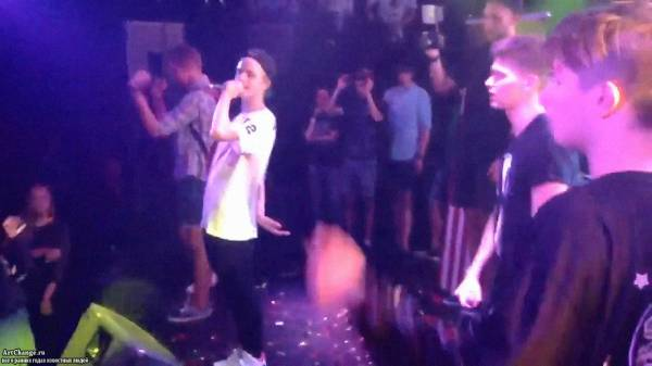 PHARAON в составе GRINDHOUSE, исполняют песню Они Хотят От Меня Что-То