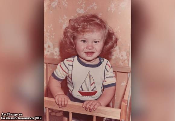 Денис Джиган в детстве (1986)