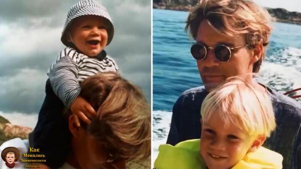 Феликс Чельберг (ПьюДиПай-PewDiePie) в детстве с отцом
