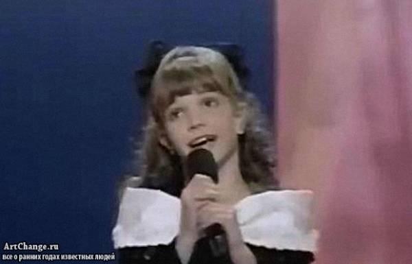 Бритни Спирс в детстве на конкурсе вокала